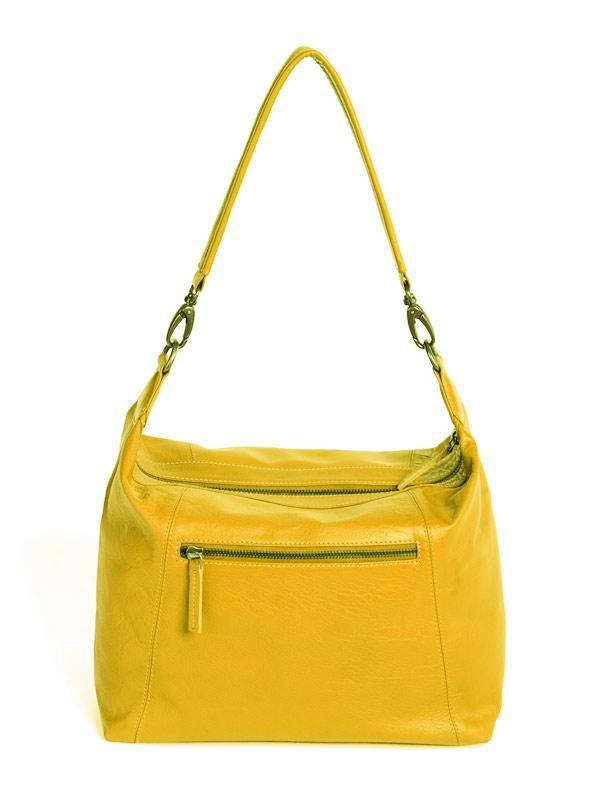 Sticks and Stones - Ledertasche Savona Bag - Yellow