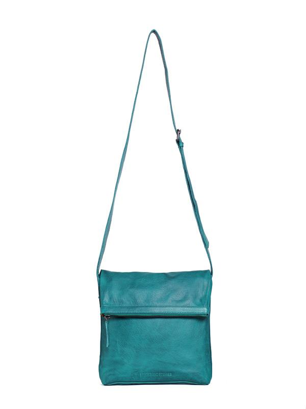 Sticks and Stones - Umschlagtasche Strasbourg Bag - Deep Lagoon