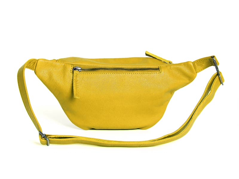 Sticks and Stones - Gürteltasche Toronto Bag - Yellow Rückseite