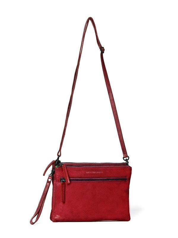 Sticks and Stones - Umhängetasche Valletta Bag - Red