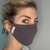 Bamboo Face Mask - Dark Grey