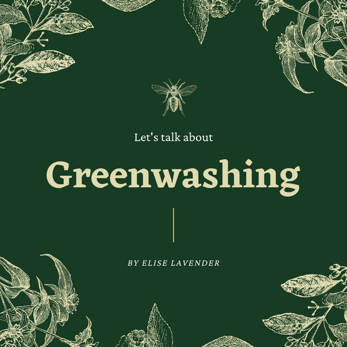 What is Greenwashing & why should we be aware?