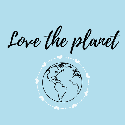 Love the planet campaign