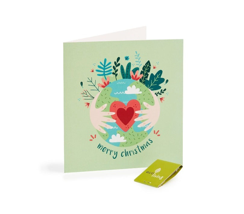 100% recycled FSC® Paper Recycled Christmas Cards