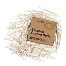 Load image into Gallery viewer, Bamboo Cotton Buds (100 pcs)