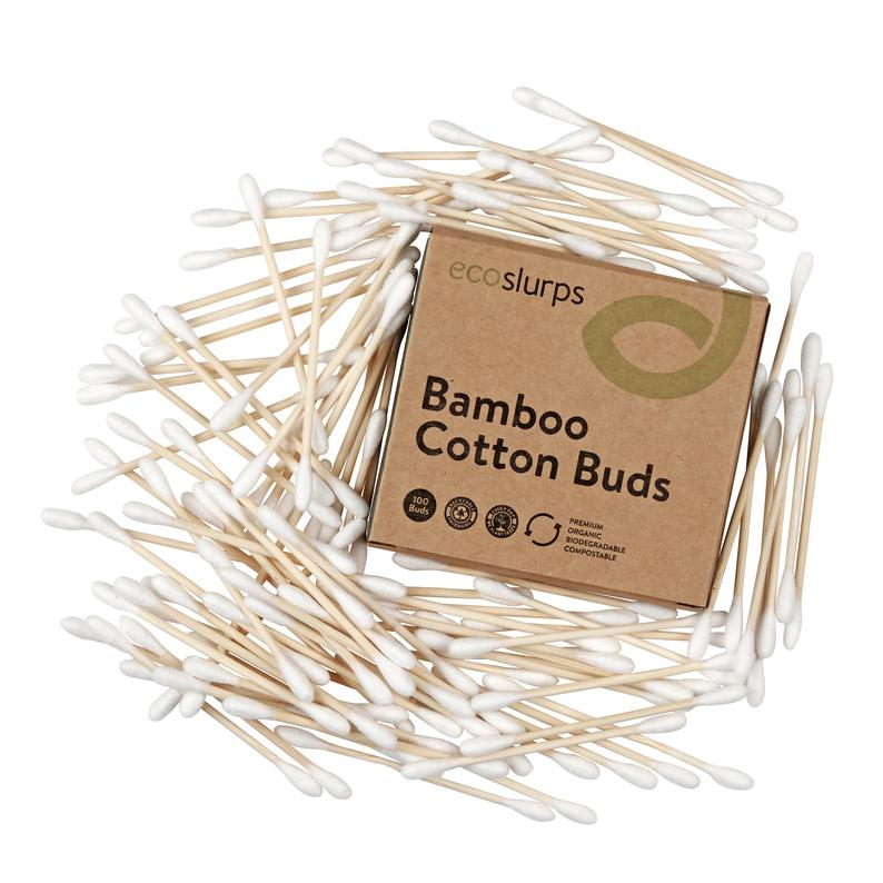 Bamboo Cotton Buds (100 pcs)