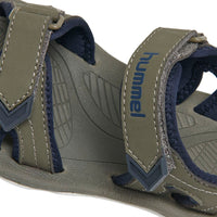 Hummel Sports Sandal, Blue Nights and Lichen Green