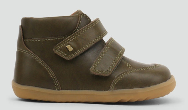 Bobux Step-Up Timber, Olive Green