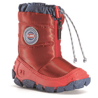 Olang 'Eolo' Kid's Snowboots, Red & Anthracite Grey