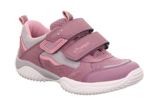 Superfit 'Storm' Trainer, 6-06382-9, Lilac/Grey, From