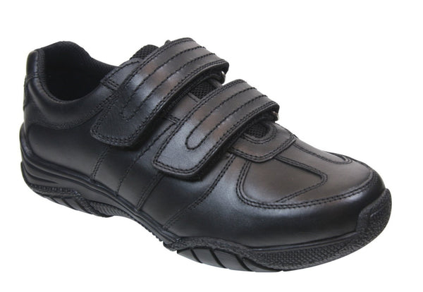 Term 'Chivers' Black School Shoe