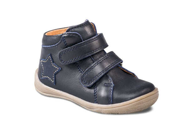 Richter Infant Leather Ankle Boot, Atlantic Navy