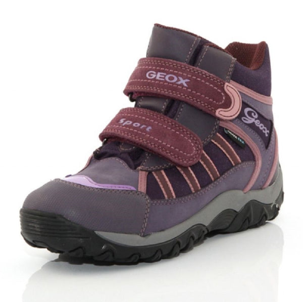 Geox Girl's 'Alaska' Hiking Boot, Violet, 2 UK (34 Eu)