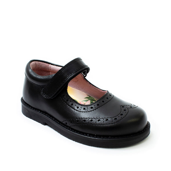 Petasil Caitlin Mary Jane School Shoe, 'F' Fitting