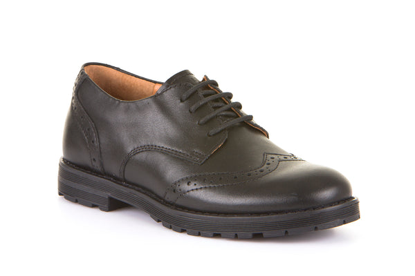 Froddo Black Lace-Up Brogue, G4130069, From