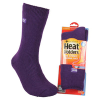 Heat Holders Thermal Socks, Assorted Colours, Kids' Size 9 - Youth 5.5
