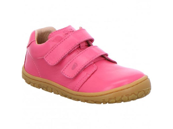 Lurchi 'Noah' Barefoot Leather Shoes, Rosa Pink