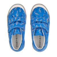 Start Rite 'Wave' Blue Canvas Shoes, 'F' Fitting