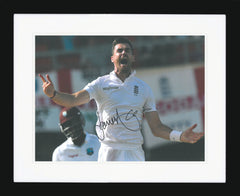 "James Anderson 12 x 8"" Signed Photograph"