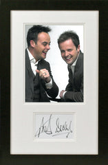 Ant and Dec Original Signatures