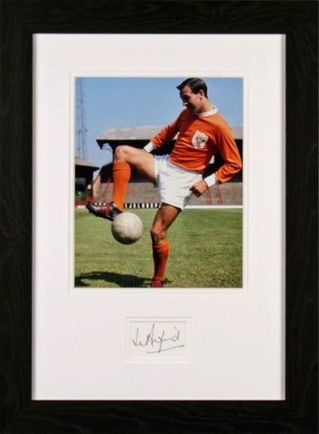 Jimmy Armfield Original Signature
