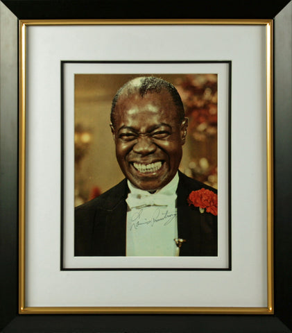 "Louis Armstrong 11 x 14"" Signed Photograph"