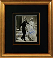 Fred Astaire and Ginger Rogers Signed Vintage Photograph