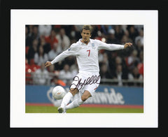 "David Beckham 10 x 8"" Signed Photograph"