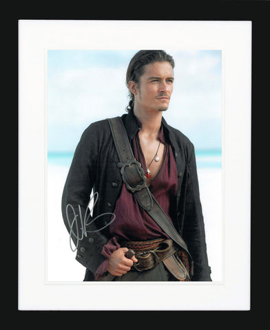 "Orlando Bloom 11 x 14"" Signed Photograph"