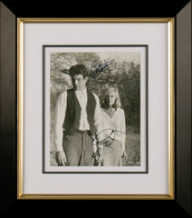 "Faye Dunaway and Warren Beatty 8 x 10"" Signed Photograph"