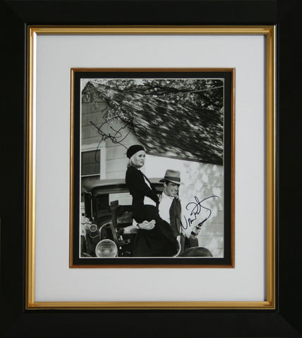 "Faye Dunaway and Warren Beatty 8 x10"" Signed Photograph"