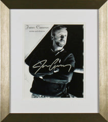 "James Cameron  8 x 10.5"" Signed Photograph"