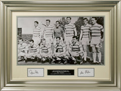 John Clark and Stevie Chalmers Original Signatures