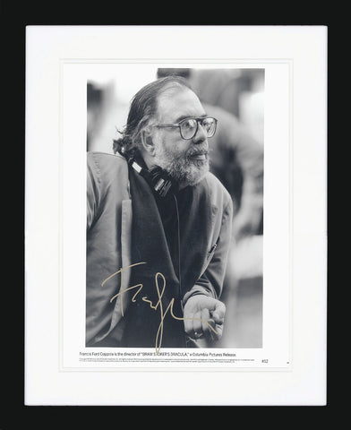 "Francis Ford Coppola 8 x 10"" Signed Photograph"