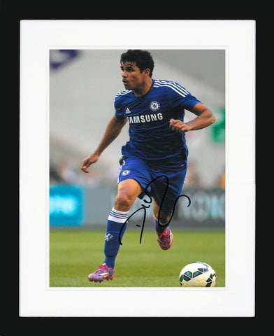 "Diego Costa 8 x 12""  Signed Photograph"