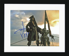"Johnny Depp 10 x 8"" Signed Photograph"