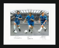 "Chelsea Legends 16 x 12"" Signed Photograph"