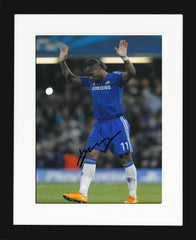 "Didier Drogba 8 x 12"" Signed Photograph"