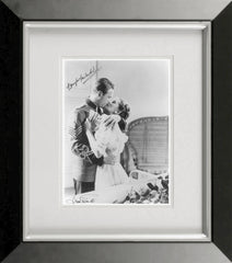 Douglas Fairbanks Jr and Joan Fontaine Signed Photograph