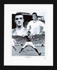 Bill Foulkes Signed Photo Montage