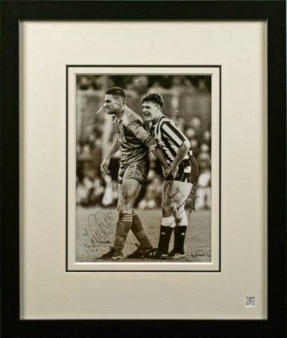 "Gascoigne and Jones 12 x 15"" Signed Photograph"