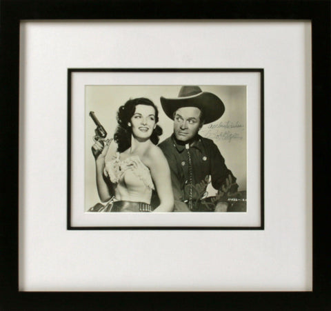 Bob Hope and Jane Russell Signed Photograph