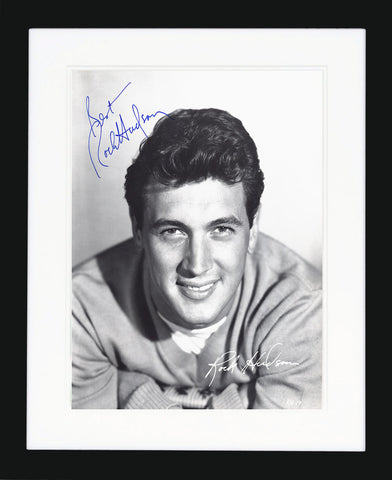 "Rock Hudson 8 x 10"" Signed Photograph"