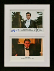 Allen Leech and Rob James-Collier 'Downton Abbey' Signed Photograph