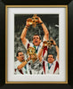 "Martin Johnson 12 x 16"" Signed Photograph"