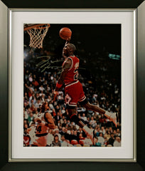 "Michael Jordan 16 x 20"" Signed Photograph"