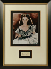 Vivien Leigh Original Signature