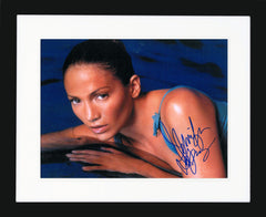 "Jennifer Lopez 11 x 14"" Signed Photograph"