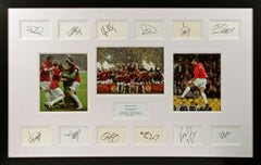Manchester United 2008 Champions League Signature Presentation