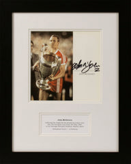 John McGovern Signed Photograph